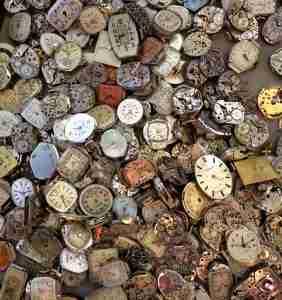 infinidad de relojes