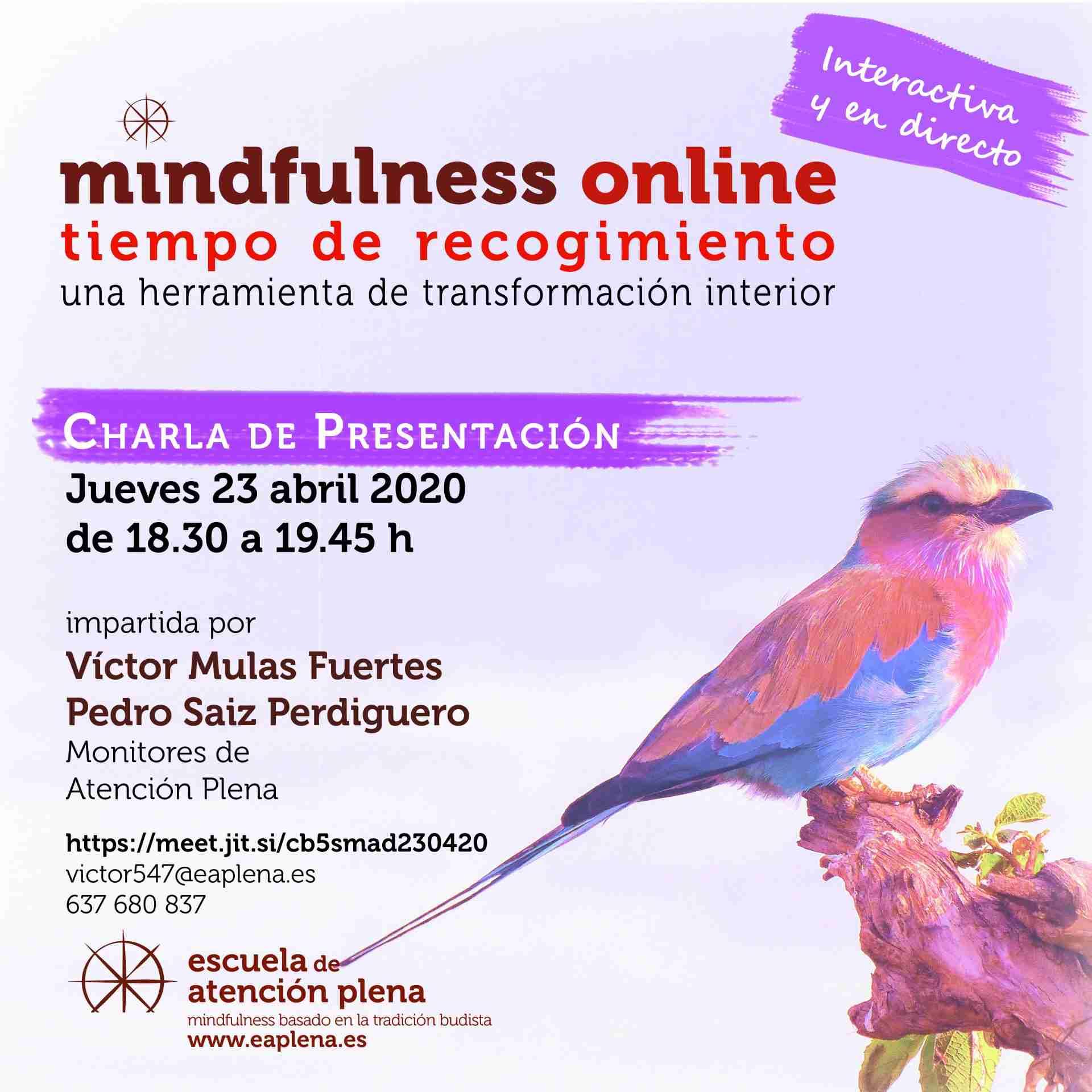 Charla de Presentación online Mulas Fuertes Víctor 23-04-2020