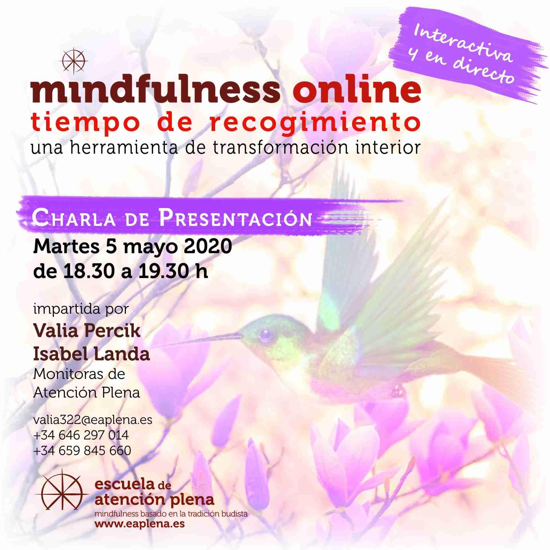 Charla de Presentación Online2 Valia Percik e Isabel Landa 05-05