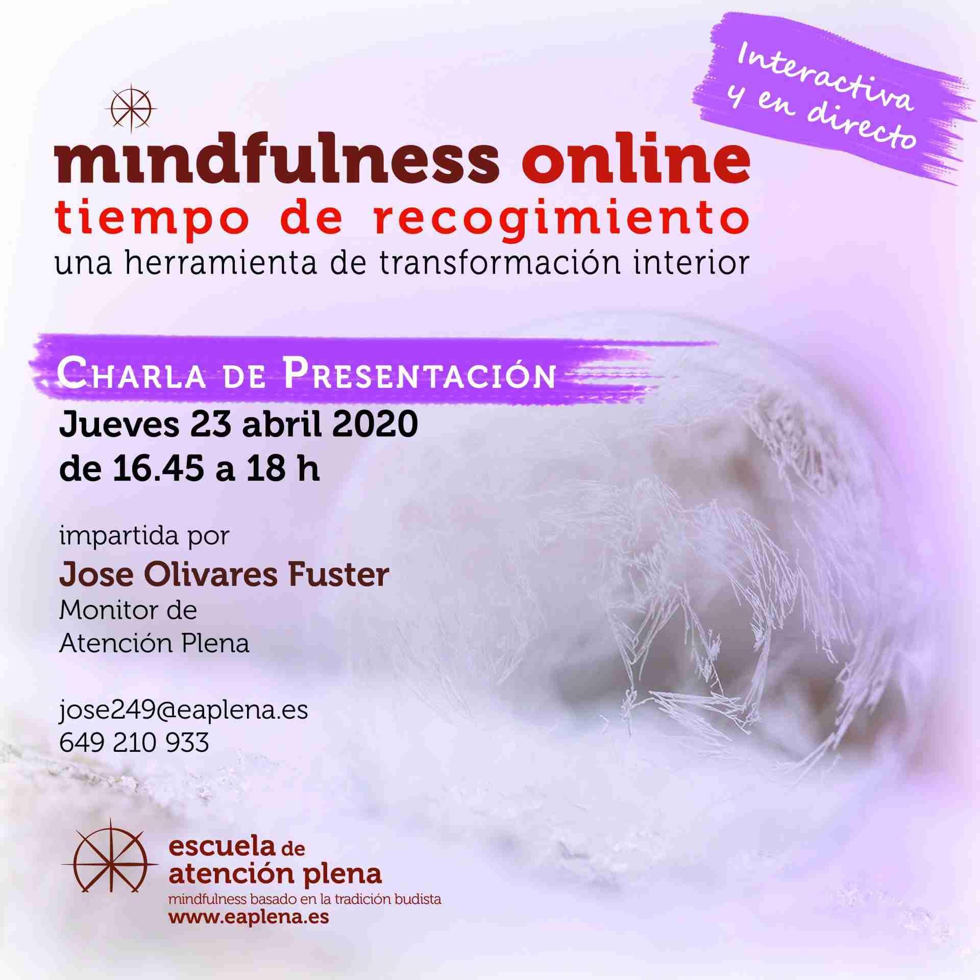 Charla de presentación ONLINE 4 249 Olivares Fuster Jose 23-04-2020