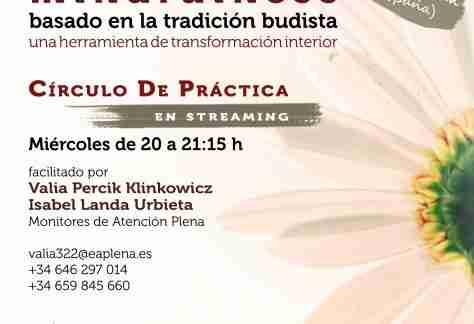 Círculo de Práctica en streaming 4 322 Valia Percik e Isabel Landa Miércoles 20