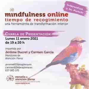 2021-01-11 Charla de presentación ONLINE 2 Jerome Ducret y Carmen García