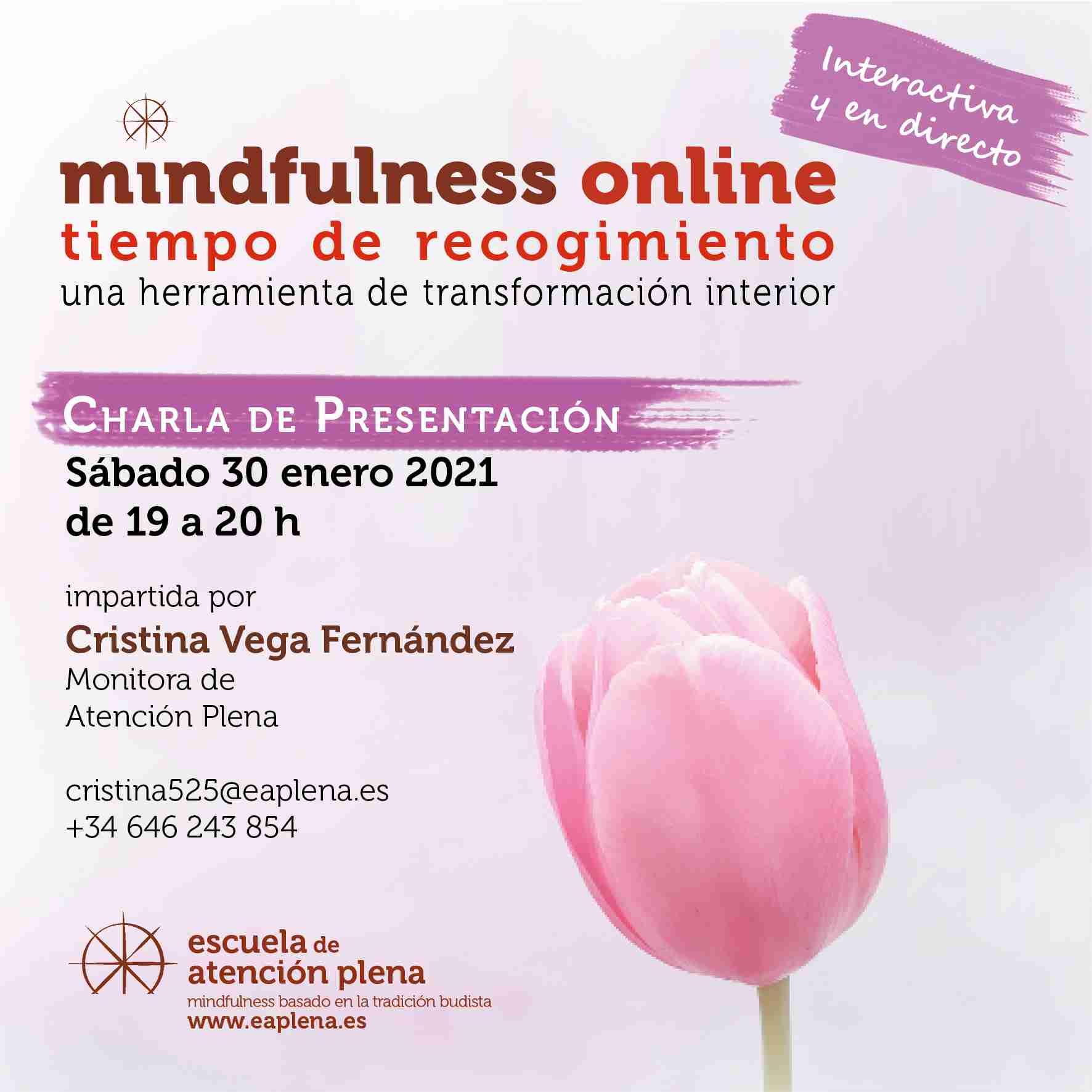 2021-01-30 Charla de Presentacion 1 Cristina Vega